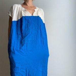Madewell color block dress